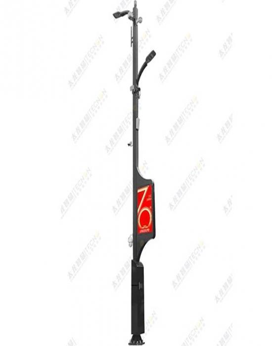 TLZX-朋克风5G智慧灯杆塔